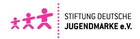 logo stiftung deutsche jugendmarke